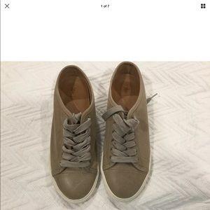Frye Mindy Tan Sneakers size7.5
